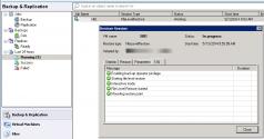 Veeam File Level Restore Job