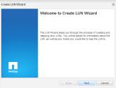 Create LUN Wizard