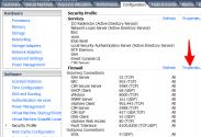 Firewall Properties of VMware