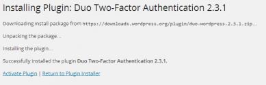 Duo WordPress Plugin